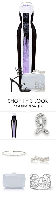 """""""My Fantasy Wardrobe"""" by neuroticfashionplate ❤ liked on Polyvore featuring Prabal Gurung, Kevin Jewelers, Suzanne Kalan, Yeprem and Monique Lhuillier"""