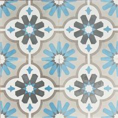So in love with encaustic tiles!