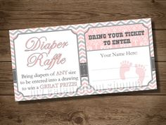 INSTANT DOWNLOAD Pink and Gray Baby Shower by MyCelebrationShoppe, $5.00
