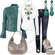 """Una simple camisa blanca"" by outfits-de-moda2 on Polyvore"