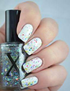 Twinkle Lights Colorful Glitter Nail Polish Topper von BaronessX