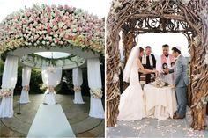 wedding chuppah wood - Google Search