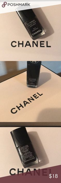 Chanel nail polish Chanel nail polish in the color Roubachka #514. It's a deep beautiful purple! CHANEL Makeup