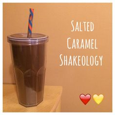 Di's Food Diary 21 Day Fix Approved Recipe = Salted Caramel Shakeology