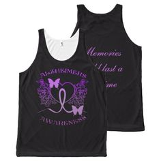 Shop Alzheimers Awareness Purple Butterflies Tank created by BlueRose_Design. Purple Butterfly, Butterfly Design, Alzheimers Awareness, Printed Tank Tops, Black Tank Tops, Butterflies, I Shop, Memories, Unisex