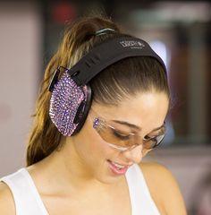 Crystal Sparkle Earmuff and Glasses kit - light purple