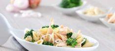 Piatto sano ma sfizioso? Cimentatevi nelle pennette integrali con filetti di salmone e broccoli  #ricetta #recipe #broccoli #salmone #pennette