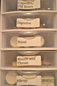 You can store it in safe place and still find what you need easily.