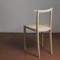 Sedia moderna / in legno STRATOS by Francesco Faccin - Danese.