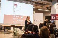 Annemarie Eder, Event Intern at Impact Hub Stockholm