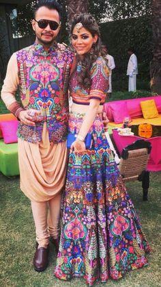 Bride n groom Indian Wedding Clothes For Men, Indian Wedding Outfits, Indian Outfits, Mens Kurta Designs, Blouse Designs, Marriage Dress For Men, Couple Wedding Dress, Navratri Dress, Sangeet Outfit