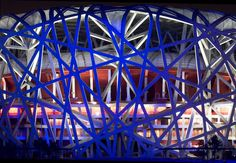Das chinesische Nationalstadion in Peking – The Bird Nest Stadion Homesthetics
