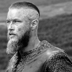 Crew Cut with Shaved Sides and Long Beard Bearded Tattooed Men, Bearded Men, Viking Haircut, Viking Hairstyles, Men Hairstyles, Ragnar Haircut, Shaved Side Hairstyles Men, Cool Haircuts, Haircuts For Men