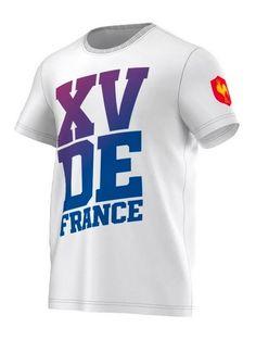 T-Shirt Rugby XV FFR - Adidas