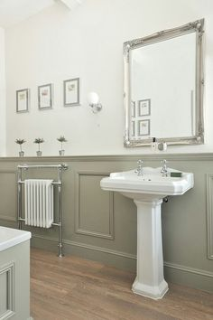 Traditional bathroom 421438477632326026 - Duel fuel radiator with heated towel rail Source by piersmoore Upstairs Bathrooms, Downstairs Bathroom, Bathroom Towels, Bathroom Vanities, Small Bathrooms, Bathroom Cabinets, Fitted Bathrooms, Master Bathroom, Bathroom Heater