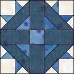 david and goliath  quilt block pattern