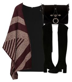 """Untitled #3968"" by london-wanderlust ❤ liked on Polyvore featuring Yves Saint Laurent, Zara and Givenchy"