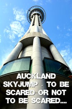 Auckland SkyJump – to be scared or not to be scared….So Ben and I recent did a world wind trip to Auckland with one of Bens bucket list items being the Auckland Sky Jump, so I thought what the heck let's try it out! (says the person deathly afraid of heights!).