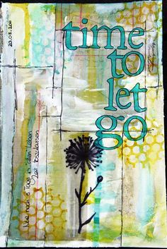 Miss Marple: Time to let go journal page
