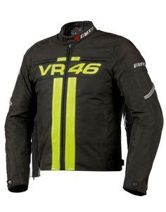 V R 46 Leather Jacket Black