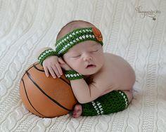 Newborn Basketball Player Photo Prop/ Newborn by WillowsGarden, $28.00