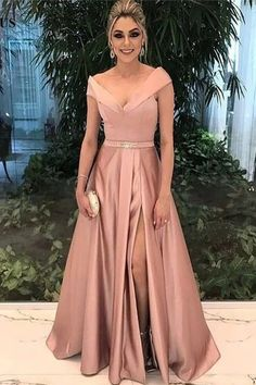 Beautiful Prom Dress, v neck bridesmaid dress champagne bridesmaid dress long formal dress satin prom gowns sexy prom dresses Meet Dresses V Neck Prom Dresses, A Line Prom Dresses, Cheap Prom Dresses, Quinceanera Dresses, Satin Dresses, Wedding Party Dresses, Evening Dresses, Prom Gowns, Formal Gowns