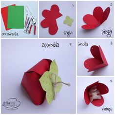 Biglietto....ripieno! By Mary mani creative: Tutorial