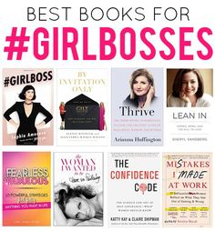 Best Books for a #Girlboss | The Reading List for Women Entrepreneurs