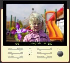 Simulador de cámara fotográfica online...