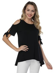 Cold Shoulder Shirt, Shoulder Shirts, One Piece Bikini, Online Shopping For Women, Comfortable Fashion, Evening Dresses, Summer Dresses, Shirt Blouses, Beautiful Outfits
