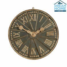 European Clock Dial Fragment - Ethan Allen US Grey Home Decor, European Home Decor, European Style, Handmade Clocks, Handmade Home Decor, Building Painting, Ethan Allen, Wall Sculptures, Custom Art
