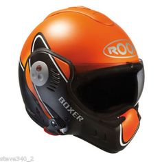 Roof Boxer Motorcycle Helmet and I really like this! Shark Motorcycle Helmets, Moto Bike, Bike Helmets, Ducati, Yamaha, Motocross, Boxer, Harley Davidson, Cars