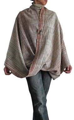 Natural Dye Handwoven Organic Cotton Snood (BFS-107-01) on Etsy, $130.72