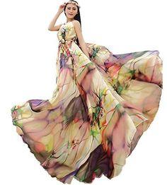 Yibeizi Women's Chiffon Floral Holiday Beach Bridesmaid Maxi Dress Sundress, http://www.amazon.com/dp/B00O7JKMT4/ref=cm_sw_r_pi_awdm_RMMrvb15H03SB