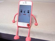 appitoz: 手足がぐにゃっと曲がる人型iPhoneケース!