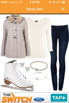 Cute ice skating outfit