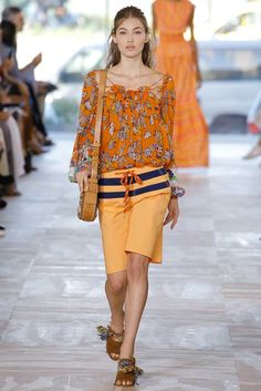 Tory Burch Spring 2017 Ready-to-Wear Fashion Show - Grace Elizabeth