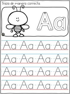 Handwriting Worksheets For Kids, Letter Worksheets For Preschool, Free Kindergarten Worksheets, Numbers Preschool, Preschool Letters, Tracing Letters, Tracing Worksheets, Alphabet Worksheets, Kindergarten Writing Activities