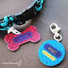 Calling all dog lovers! Make personalized Shrinky Dinks dog tags with a free printable so your pup stands out! It's super easy.