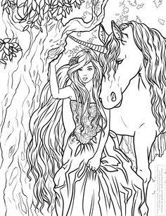 Coloriage Mandala Licorne Unique Coloring Selinafenech Enchanted Jpg 3371 Fantasy Of Coloriafes Disney