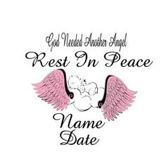 In Loving Memory Car Window Decal With Angel Wings Car Decals - Vinyl car decals for windows