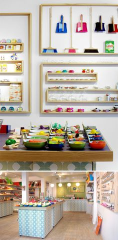 Great ways to display small items @ Lütt & Fien Shop www.madisonavenuecloseouts.com