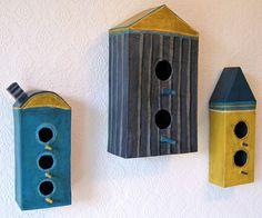 Clever Houses for Imaginary Birds by #OliveLoafDesign