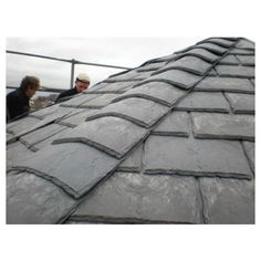 Eco Slate Recycled Plastic Roof Tile (box of 34) 300mm x 420mm