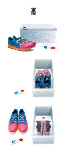 cross shoes packaging