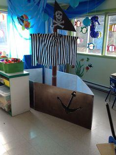 Boats Preschool Ideas 56 Ideas For 2019 Pirate Kids, Pirate Day, Pirate Birthday, Preschool Pirate Theme, Preschool Ideas, Pirate Photo Booth, Bateau Pirate, Pirate Crafts, Sea Activities