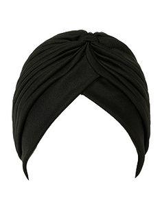 Shop Black Turban Hat from choies.com .Free shipping Worldwide.$5.99