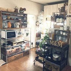 Wire Shelving, Shelves, Japanese Apartment, Retro Home, Studio Apartment, Cooking Time, Liquor Cabinet, Kitchen Decor, Storage