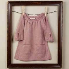 Great way to frame that special outfit or family heirloom!