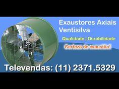 EXAUSTORES, EXAUSTORES INDUSTRIAIS,VENTILADOR DE COLUNA,EXAUSTOR TRANSMI...